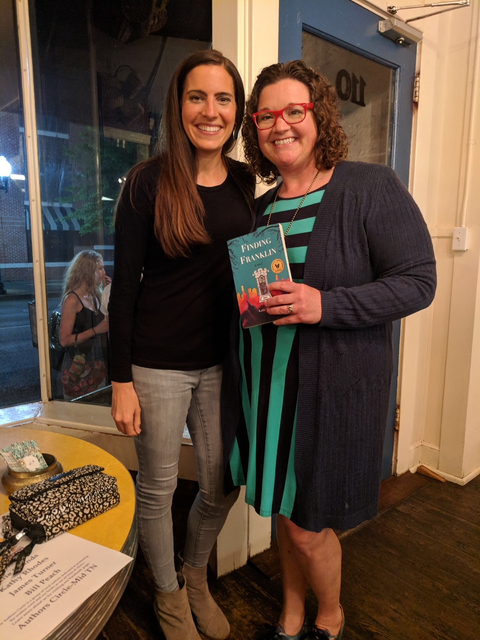 "Book signing for ""Finding Franklin"" by Katie Shands"